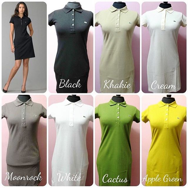 Dress Classic Lacoste Polo For Women On Carousell kXZOPiu