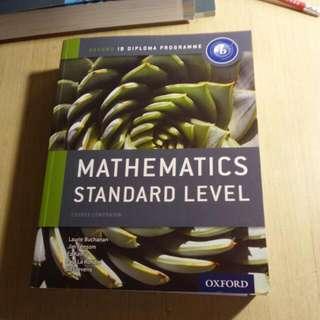 BN IB SL Mathematics Oxford Textbook