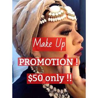 Make Up Promotion Till End Of February !!
