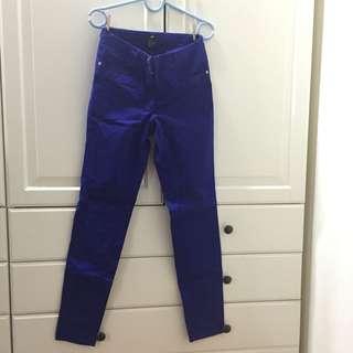 H&M Purple-blue Pants