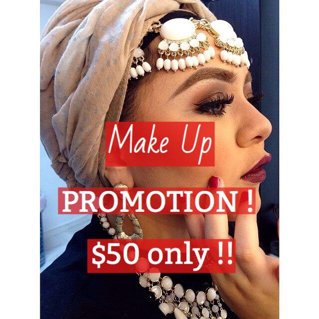 Make Up Promotion Till End Of February !!