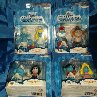 THE SMURFS MOVIE Collectible Set MISB