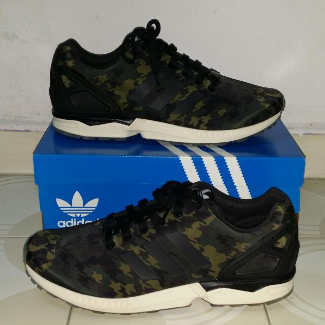 hot sale online 400e1 67b43 Adidas ZX Flux X Italia Independent, Men s Fashion on Carousell