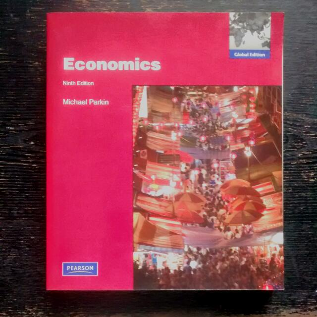 Economics 9th Edition Michael Parkin Pearson Global Edition