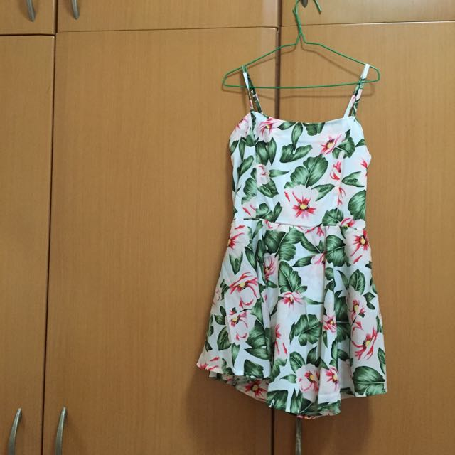 flower dress (w/ pants inside)