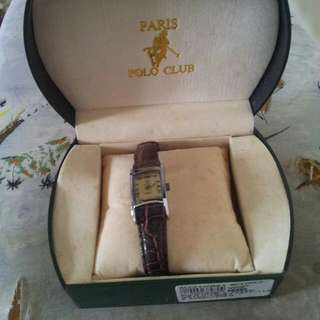 Polo Brand Lady  Leather Watch