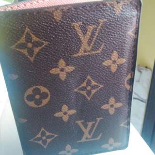 Inspired LV Passport Cover