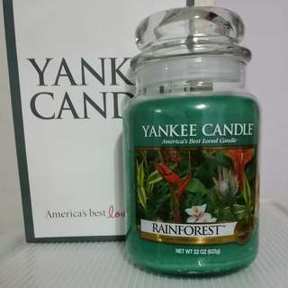 Brand New Yankee Candle Large Jar