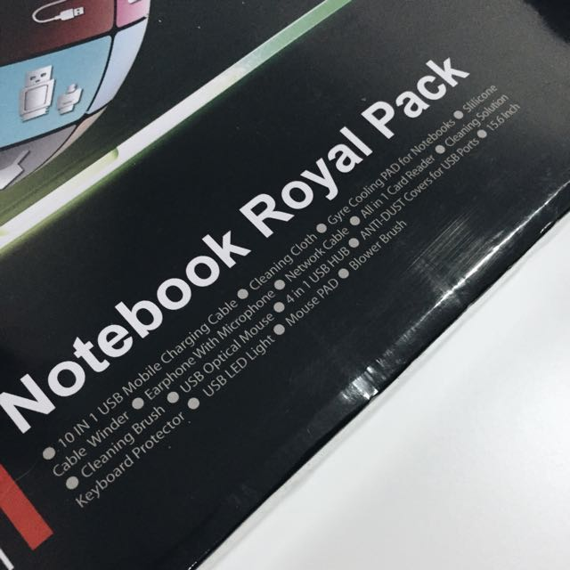 25-in-1 Notebook Royal Pack
