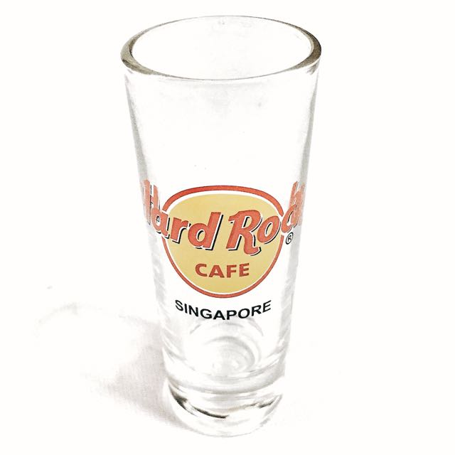 BNIB Hard Rock Cafe Collectible Long Shot Glass