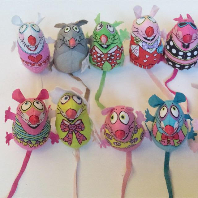 FatCat® Catnip Toy - Colourful Mouse