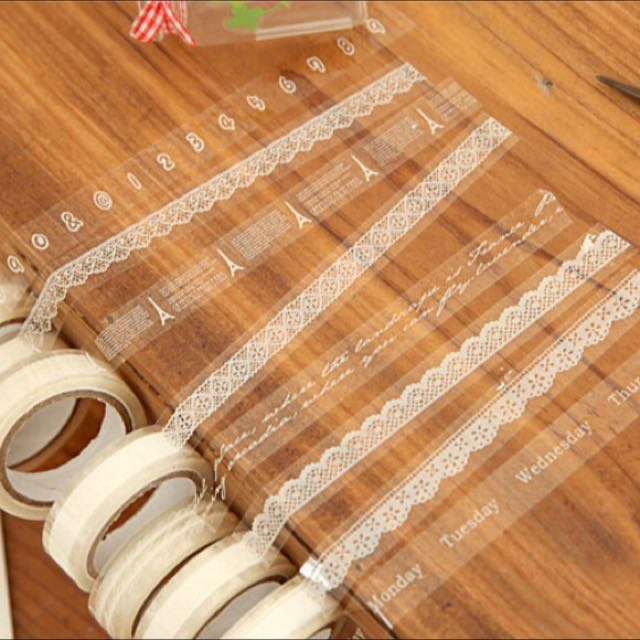 Lace Craft Washi Tape