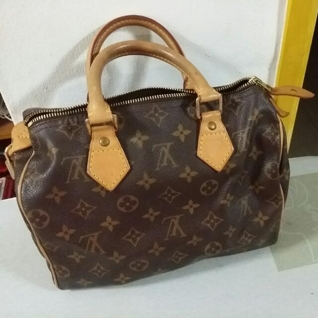 Preloved Authentic Louis Vuitton Speedy 25 Handbag ed0c5b5ec