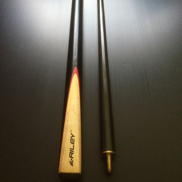 Riley Carbon Fibre Graphite Shaft Snooker Billiard Cue