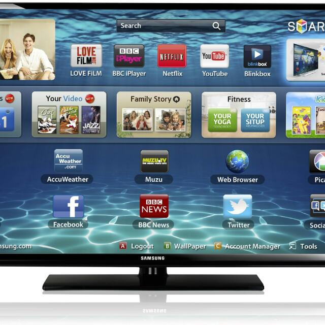 Samsung 32 Inch Smart TV.. Dongle Included