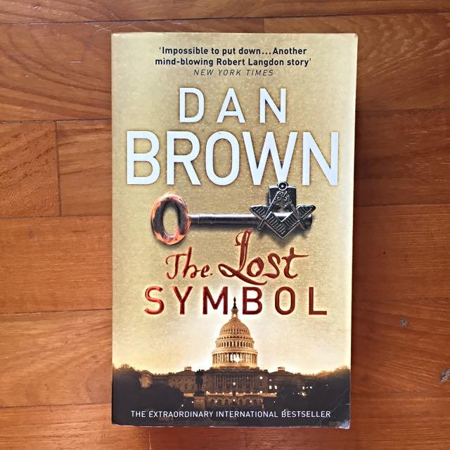 The Lost Symbol By Dan Brown Books Stationery On Carousell