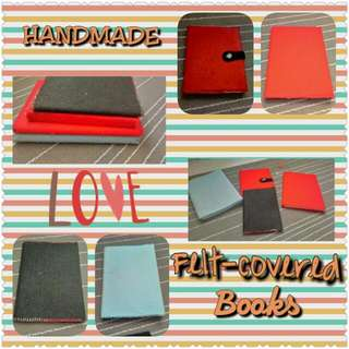 Felt Covered Book