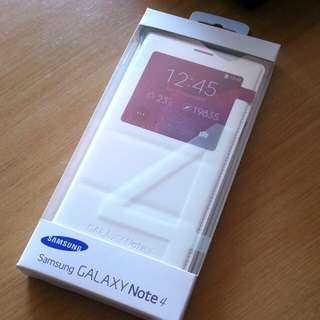Samsung Galaxy Note 4 Authentic S-View Cover