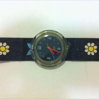 Swatch Jeans Strap Watch