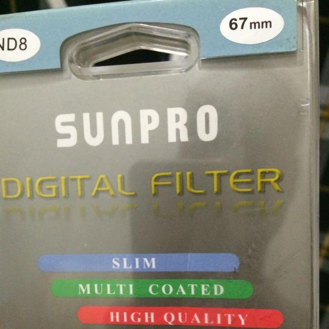 Neutral Density (ND) Filter ND8