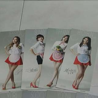 SNSD Goobne Chicken Official Poster (Rare/OOP)