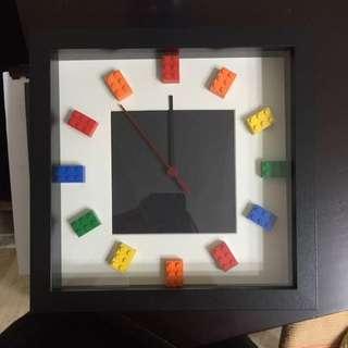 Lego Customized Clock