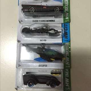 Hotwheels 1:64 Batman Series Hard To Find