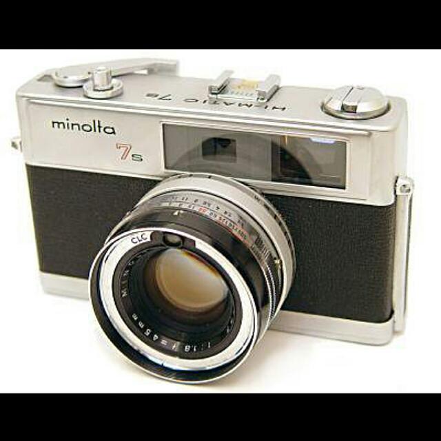 Minolta Himatic 7s Rangefinder