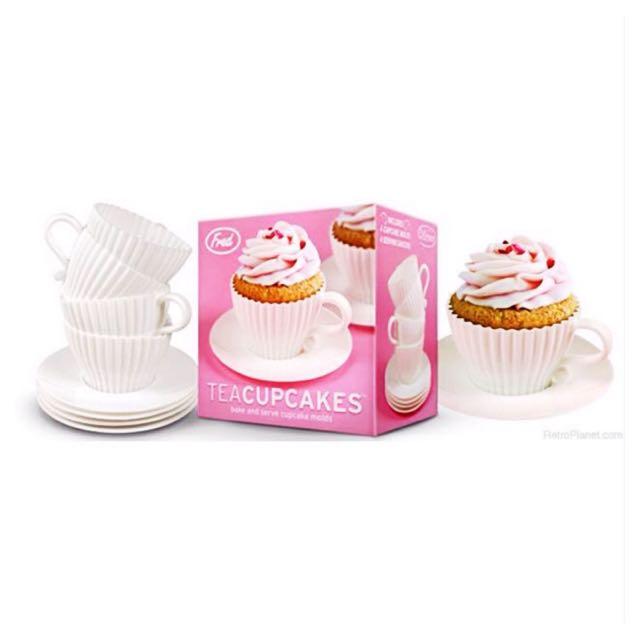 Tea Cupcake Silicone Mould