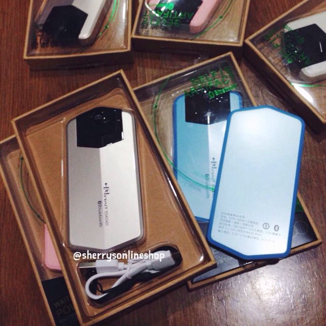 Waitsee powerbank bluetooth 7800mah