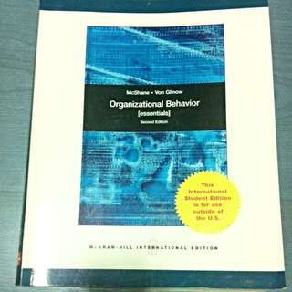 MNO Organizational Behavior [Second Edition]