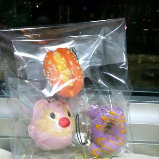 """Pink Mouse,orange-bread Sandwich, """"hello Kitty Donut"""" -$6  -fast Deal:$5 - Only Accept Cc Venue Mention For Meetups Is No Longer Available  -items Will Only Be Mailed Through Nrm Mail -not Responsible for lost mail"""