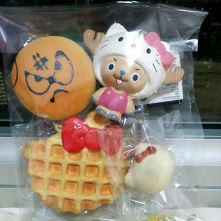 White Hk Waffle( Rare), Hello Kitty Chopper, Hello Kitty Marshmallow,  Angry Bun -$27 -Fast Deals:$25 -Items Are Only Being Mailed Through Nrm Mail  - not Responsible for Lost Mails  -only Accept Cc Venue Mention For Meetups Is No Longer Available