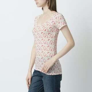 Uniqlo AIRism Short Sleeve Shirt