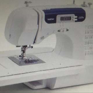 SEWING MACHINE COMPUTERIZED BROTHER CS6000i