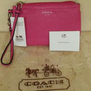 BN Pink Couch Wristlet