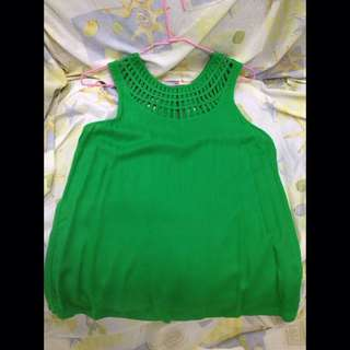 New Look Green Casual/Working Blouse