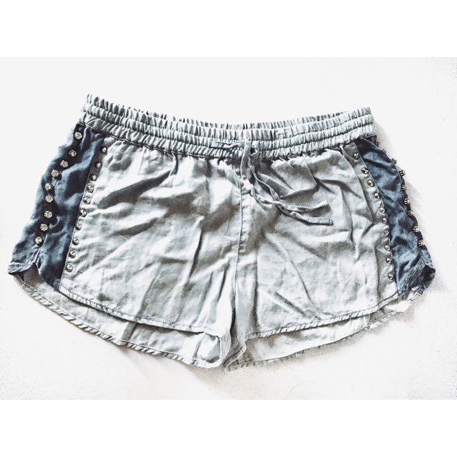 Brand New FOREVER21 Studded Shorts