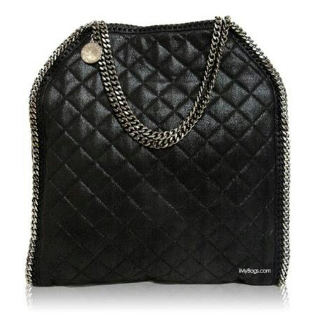 49bed77999b Stella McCartney Falabella Quilted Shaggy Deer Big Tote