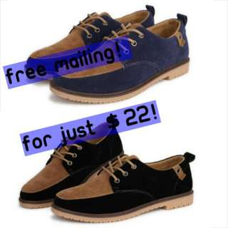 Great Offer! Men Leather Shoes (casual)