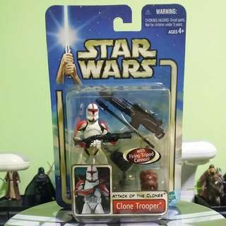 Hasbro Star Wars Attack Of The  Clones Collection 1 Clone Trooper