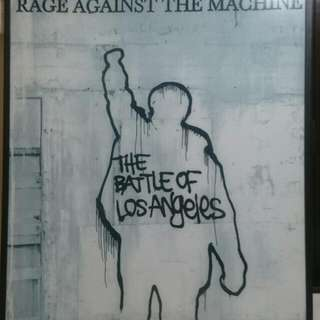 Rage Against The Machine Framed Poster