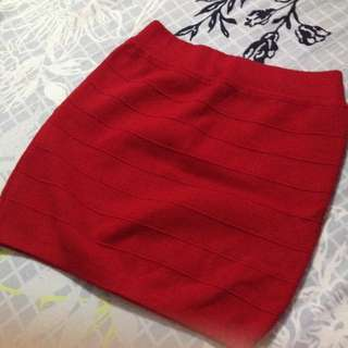 Knitted Mini Skirt