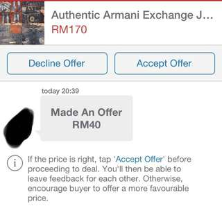Ridiculous Offer