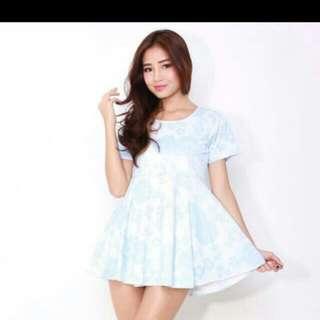 Babyblue Doll Dress
