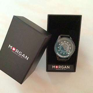 <Reduced Price> Morgan Watch w Swarovski Crystal