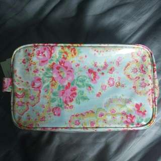 cath kidston cosmetic bag oilcloth