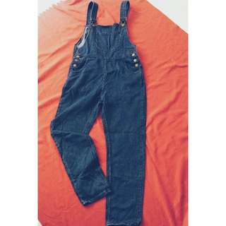 BRAND NEW Jeans Jumpsuit(Darker Blue)
