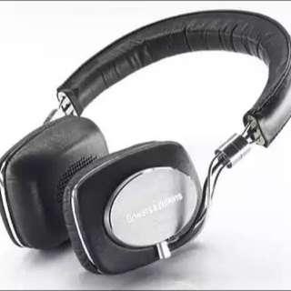 B&W P5 Headphones + Oyaide PEC Cable