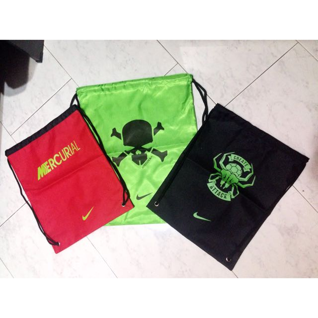 NIke Drawstring Bag, Sports on Carousell 2adf028211